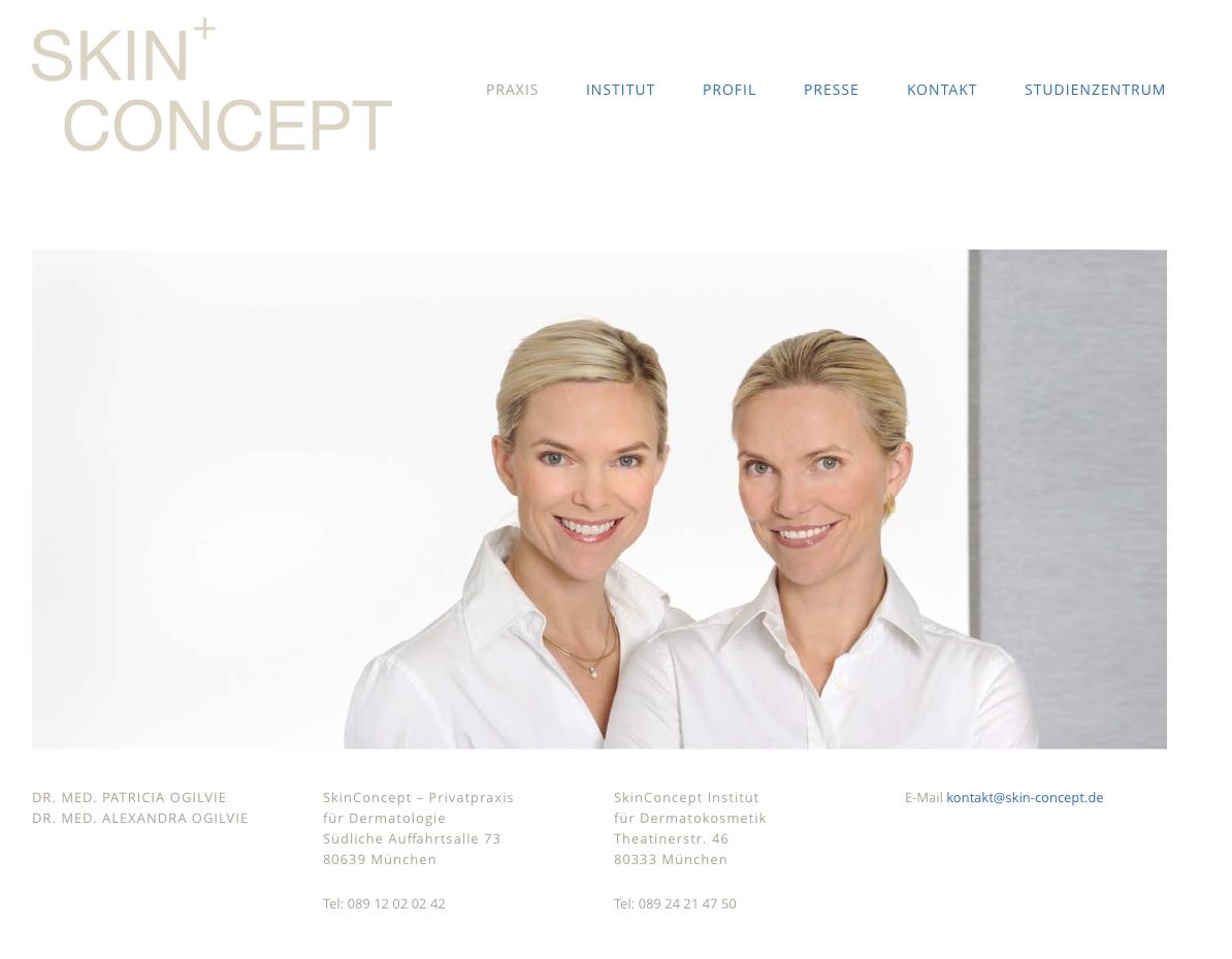 Ärztliche Kooperation SKIN CONCEPT | Dr. Schuster