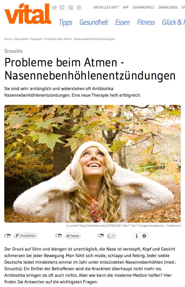 Ballondilation bei Entzündungen der Nasennebenhöhlen | Dr. Schuster München