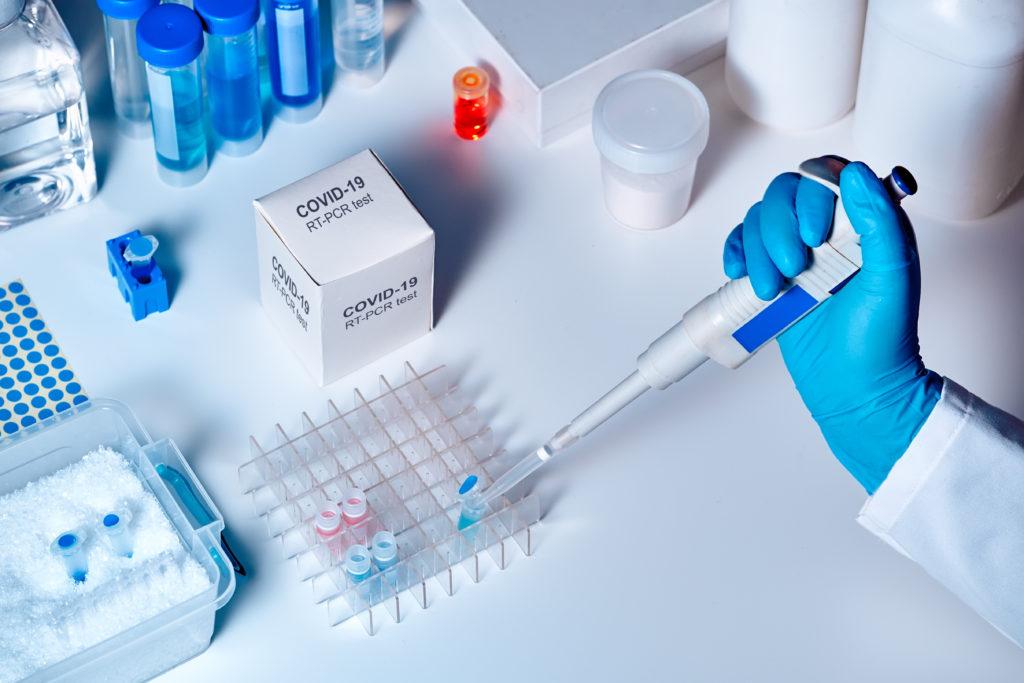 PCR Test Coronatest Corona Schnelltest COVID 19 München